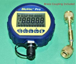 BluVac Pro+Wireless Vacuum Gauge